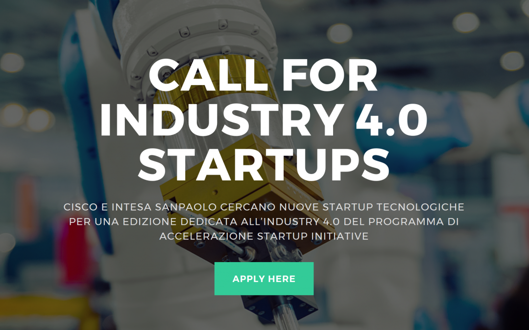 ADPM Drones – Startup initiative Industry 4.0 by Cisco and Intesa Sanpaolo