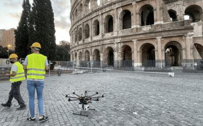 ADPM Drones vola al Colosseo– Progetto Pomerium